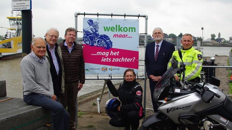 Samenwerking tegen motorlawaai